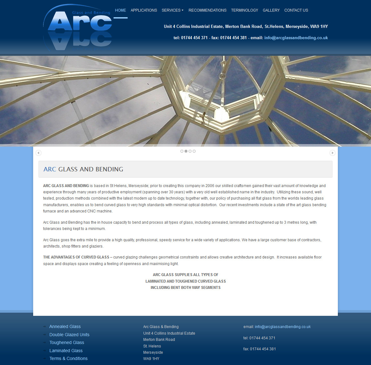 Arc Glass and Bending Design